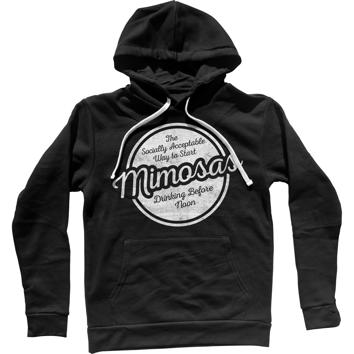 Mimosas Socially Acceptable Drinking Before Noon Unisex Hoodie