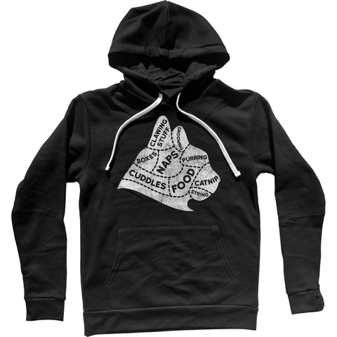 The Mind of A Cat Unisex Hoodie