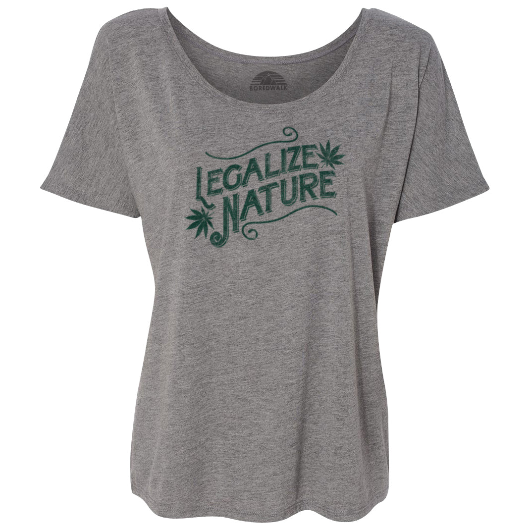 Women's Legalize Nature Scoop Neck T-Shirt