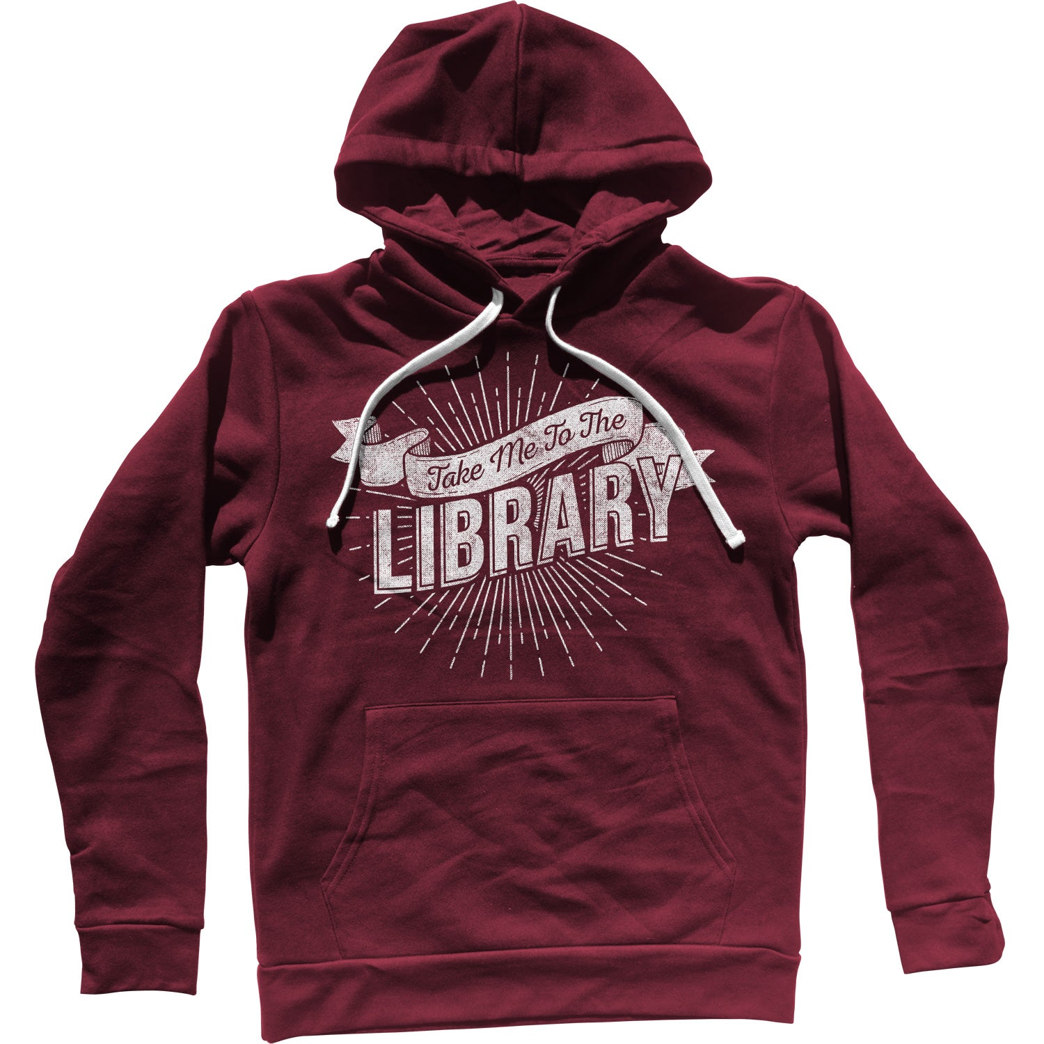 Take Me To The Library Unisex Hoodie