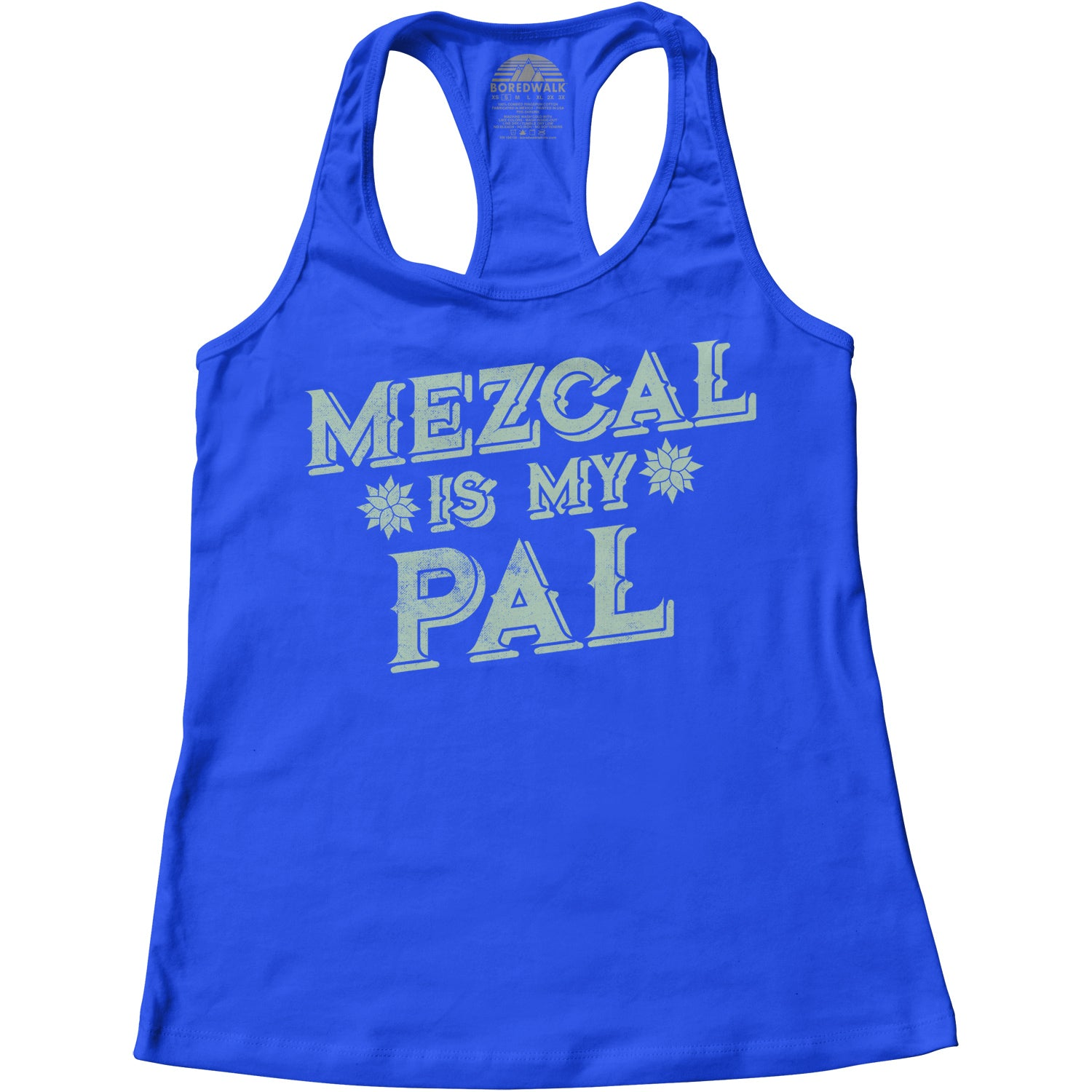 Women's Mezcal is My Pal Racerback Tank Top