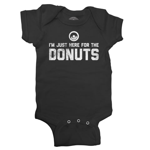 I'm Just Here For The Donuts Infant Bodysuit - Unisex Fit