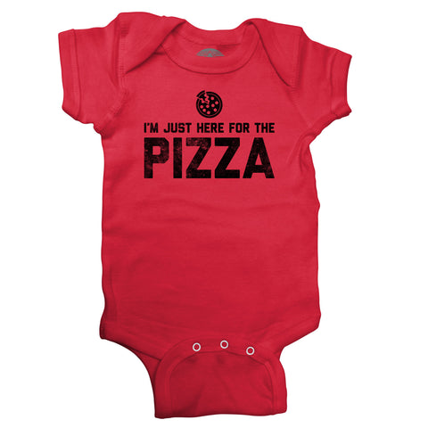 I'm Just Here for the Pizza Infant Bodysuit - Unisex Fit