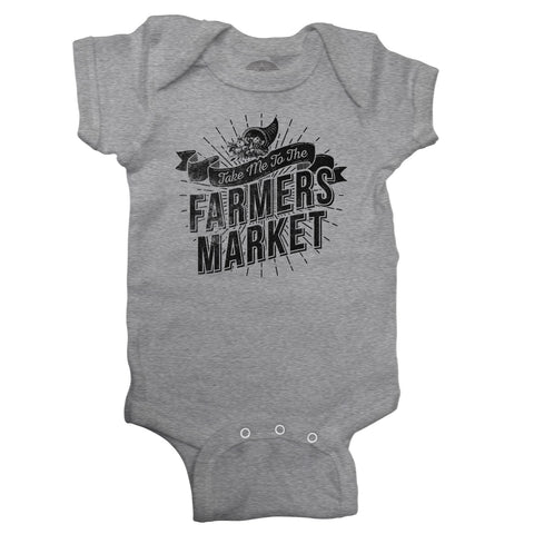Take me to the Farmers Market Infant Bodysuit - Unisex Fit