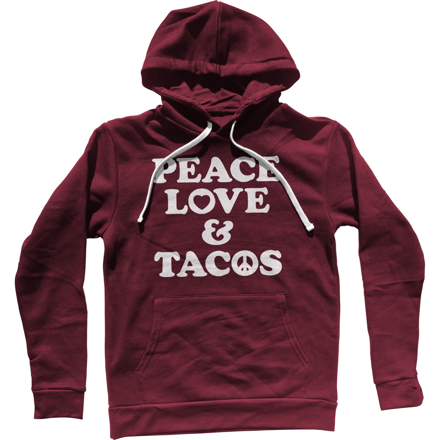 Peace Love and Tacos Unisex Hoodie
