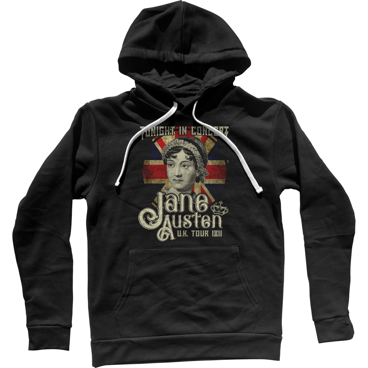 Jane Austen Rock and Roll UK Tour Unisex Hoodie
