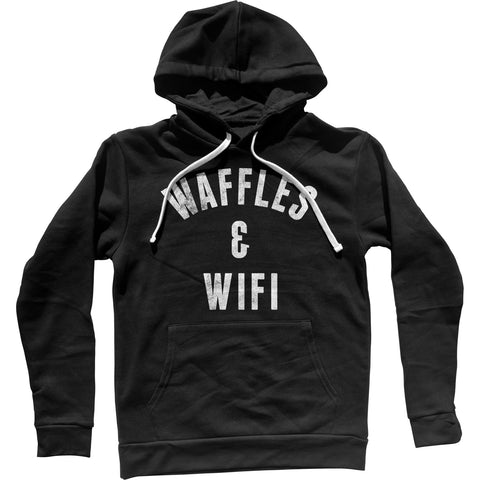 Waffles and Wifi Unisex Hoodie