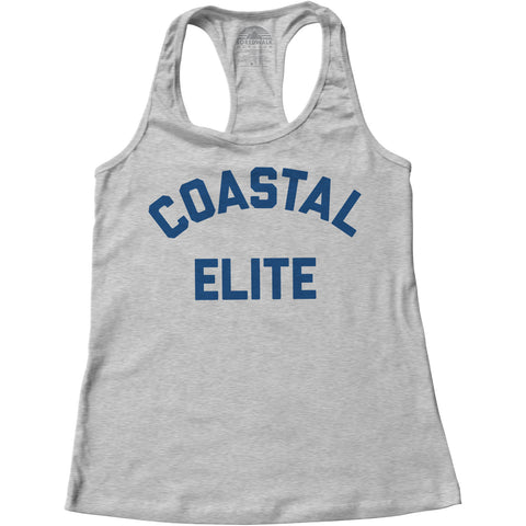 Women's Coastal Elite Racerback Tank Top