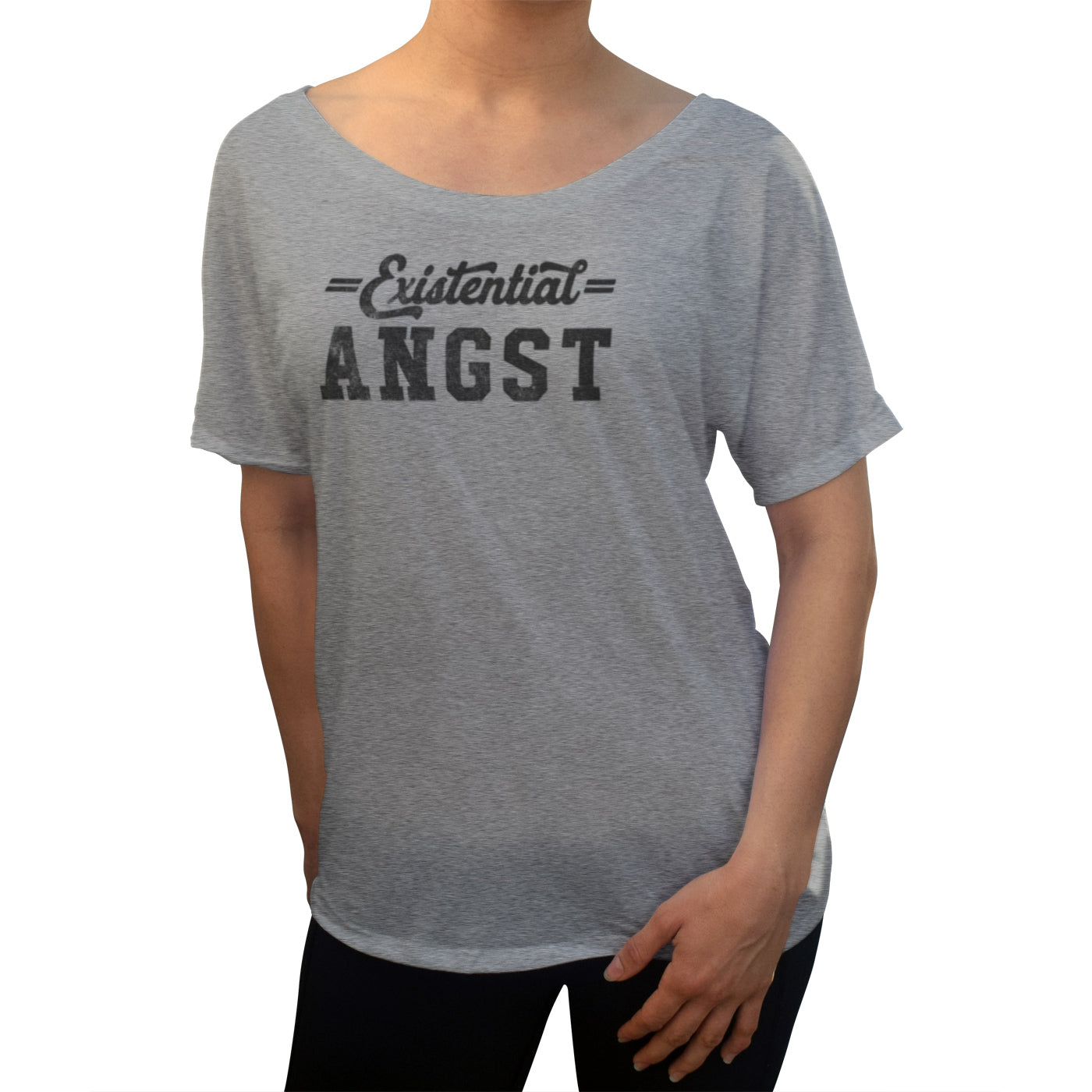 Women's Existential Angst Scoop Neck T-Shirt