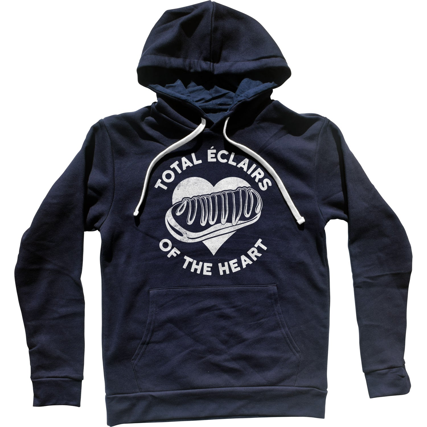 Total Eclairs of the Heart Donut Shirt Unisex Hoodie