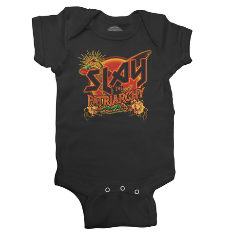 Boredwalk Slay The Patriarchy Infant Bodysuit
