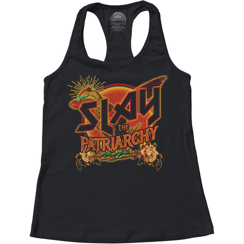 Women's Slay the Patriarchy Racerback Tank Top