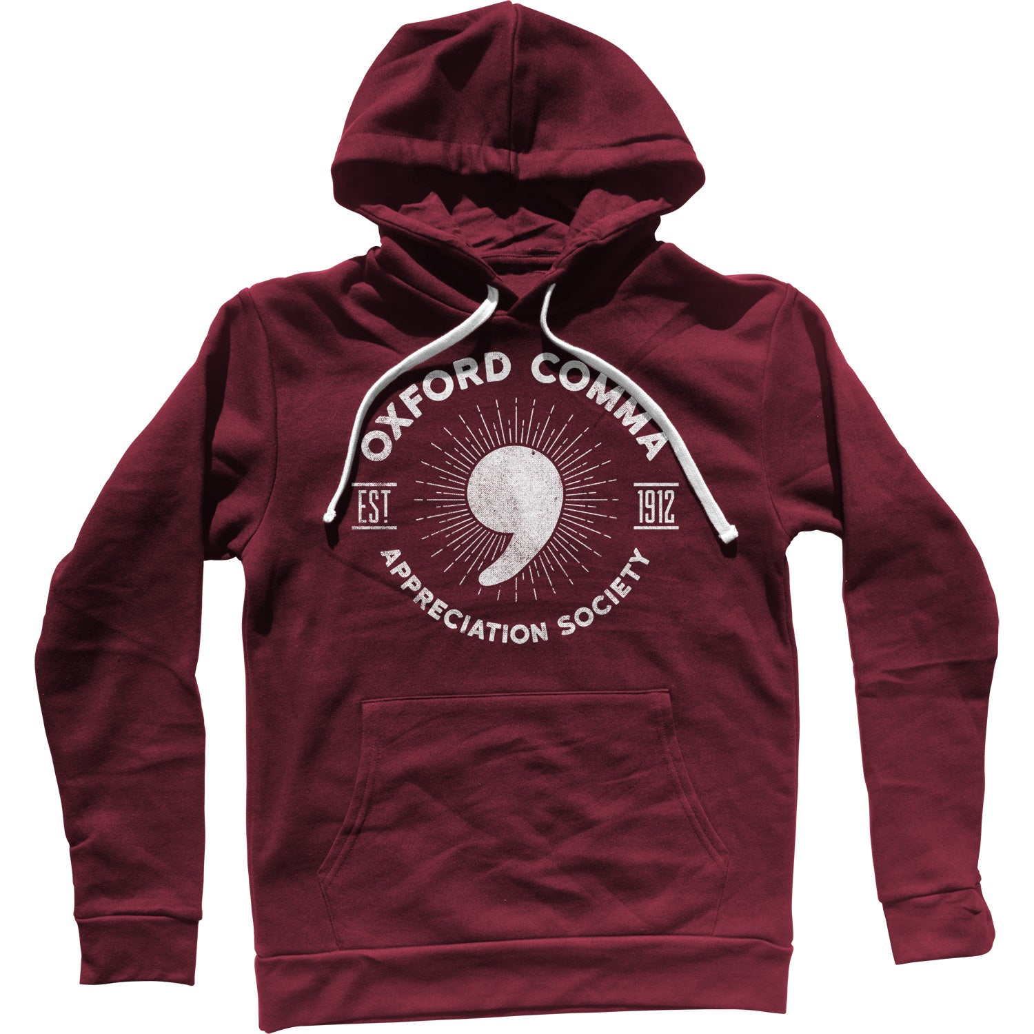 Oxford Comma Appreciation Society Unisex Hoodie
