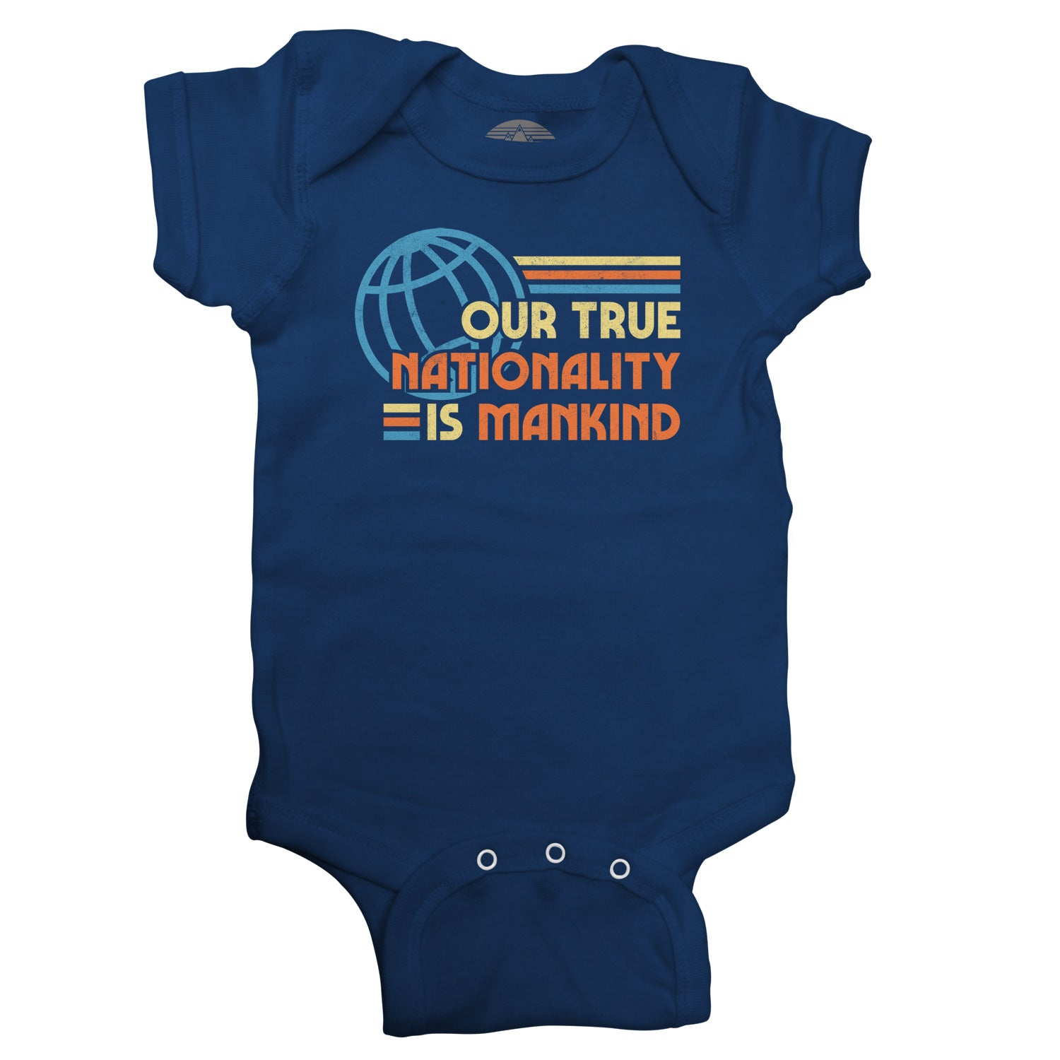 Our True Nationality is Mankind Infant Bodysuit - Unisex Fit