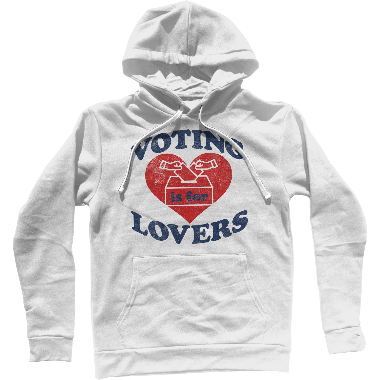 Voting Is For Lovers Unisex Hoodie