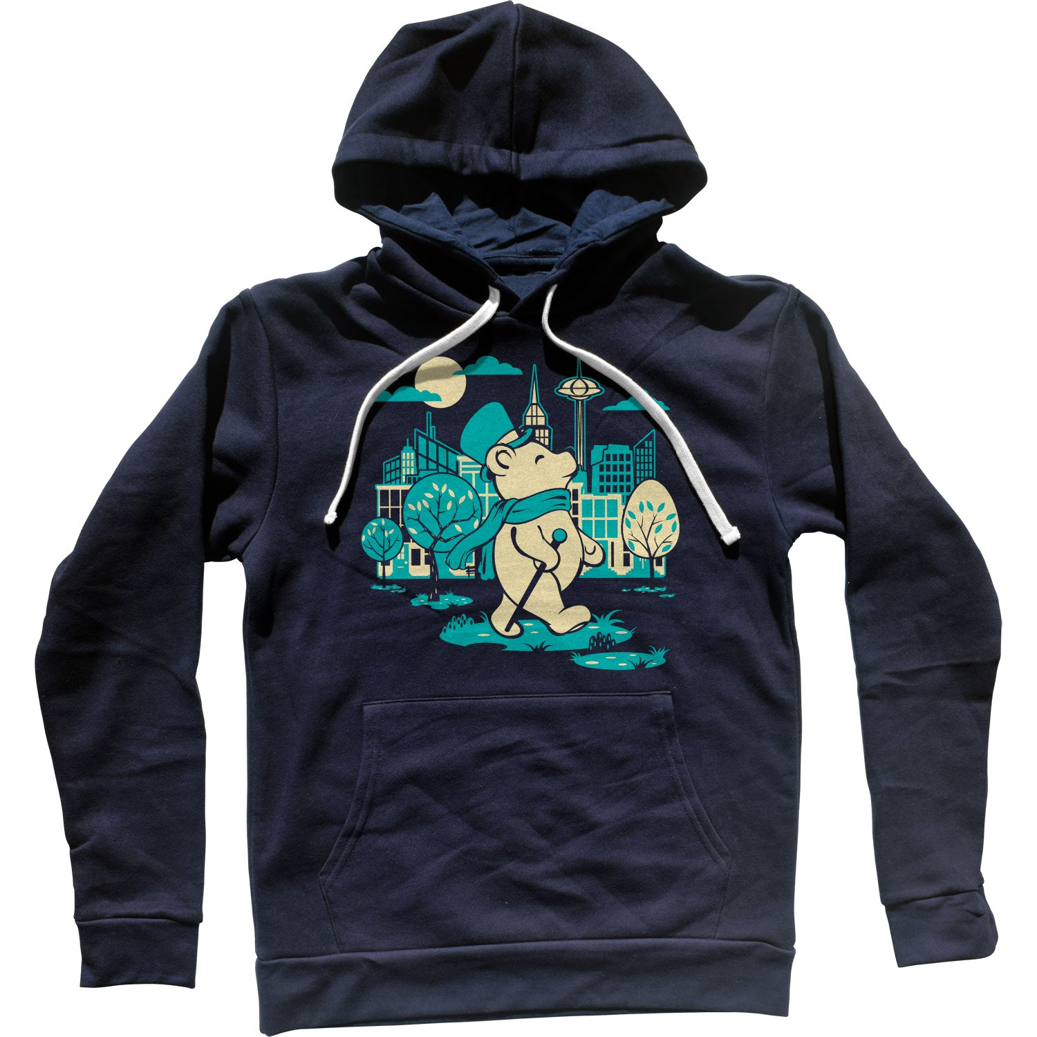 Bear About Town Unisex Hoodie