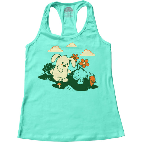 Women's Beware the Vegetarian Racerback Tank Top