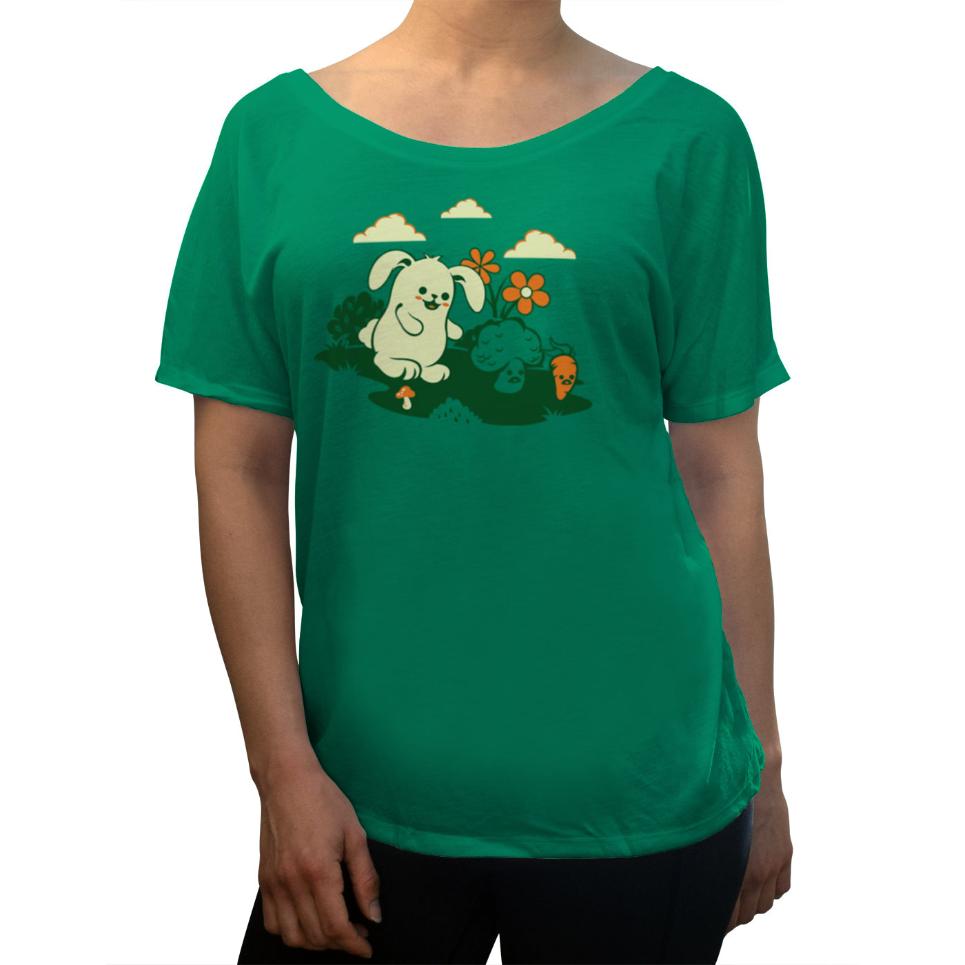 Women's Beware the Vegetarian Scoop Neck T-Shirt
