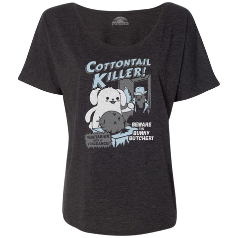 Women's Cottontail Killer Scoop Neck T-Shirt