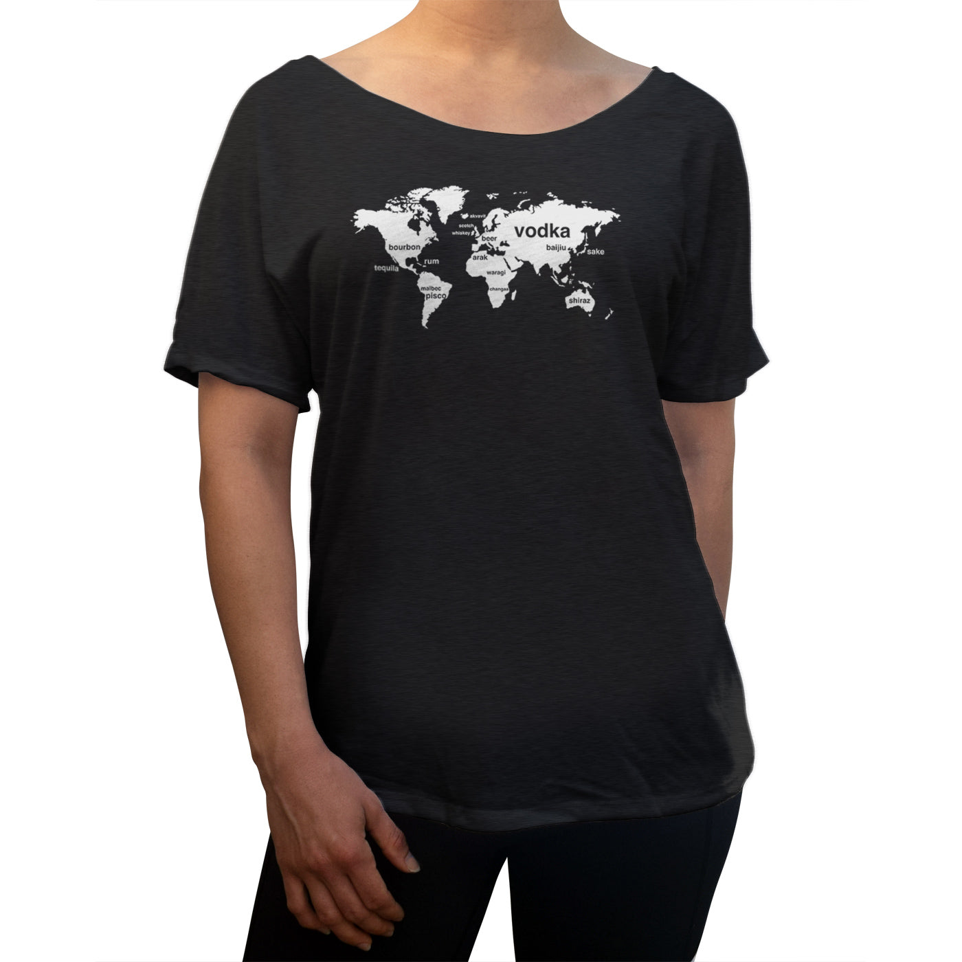 Women's International Boozing Scoop Neck T-Shirt