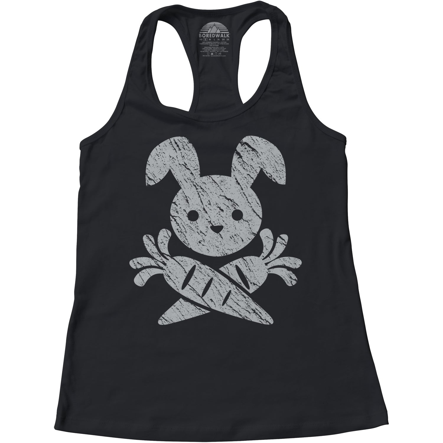 Women's Jolly Roger Bunny Racerback Tank Top