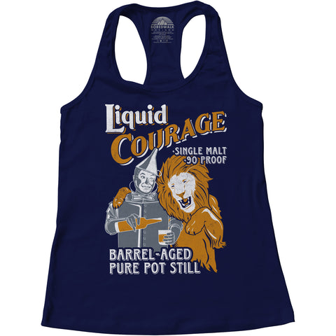 Women's Liquid Courage Racerback Tank Top