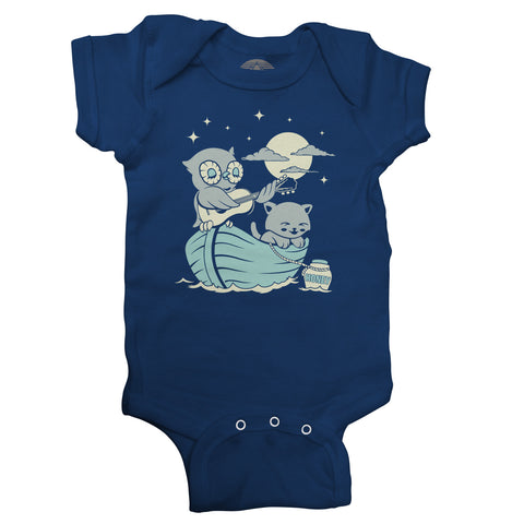 The Owl And the Pussycat Infant Bodysuit - Unisex Fit