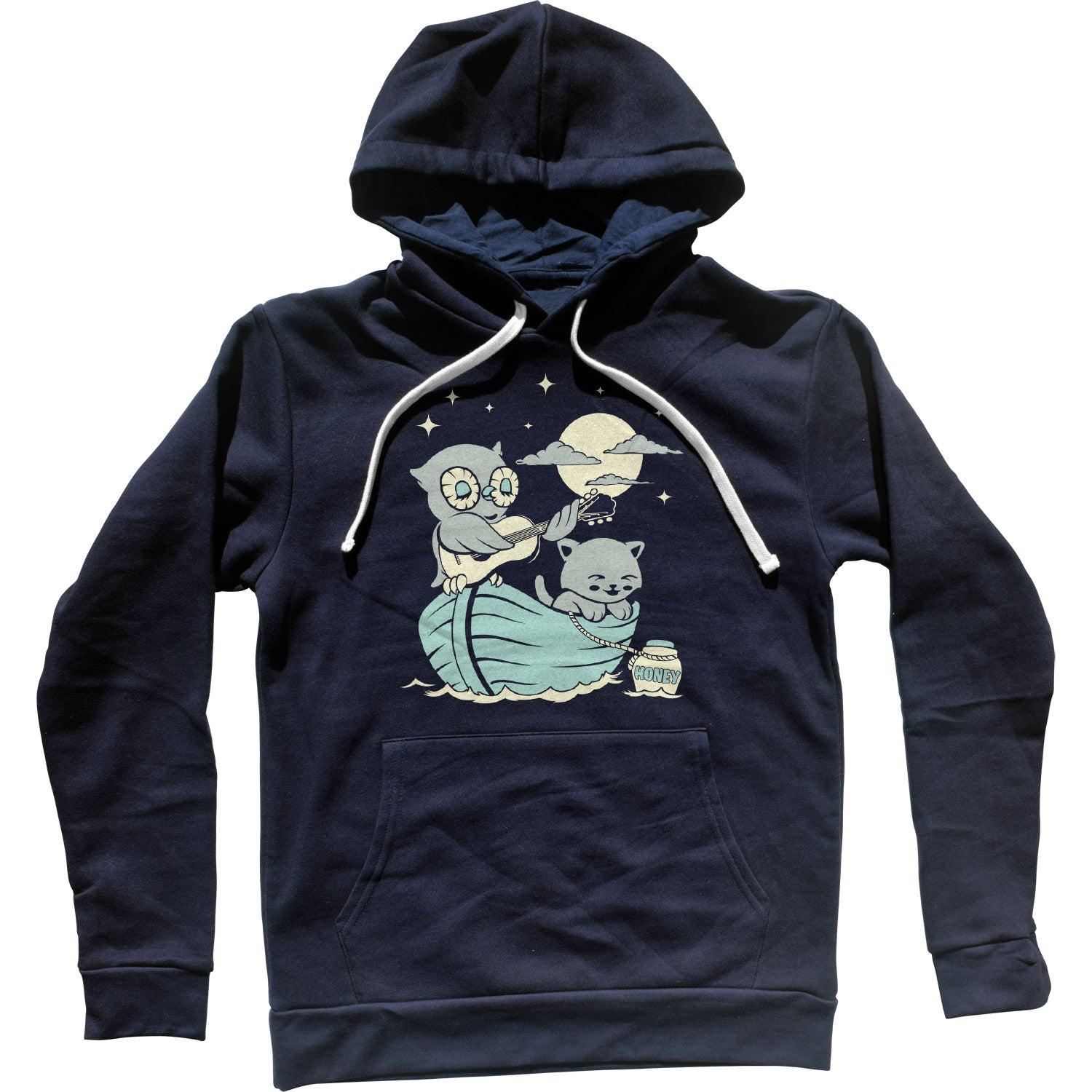 The Owl And the Pussycat Unisex Hoodie