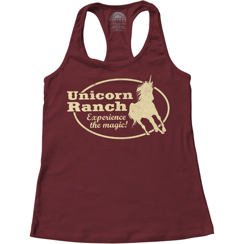 Women's Unicorn Ranch - By Ex-Boyfriend Racerback Tank Top