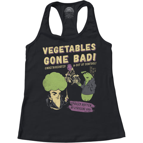 Women's Vegetables Gone Bad Racerback Tank Top