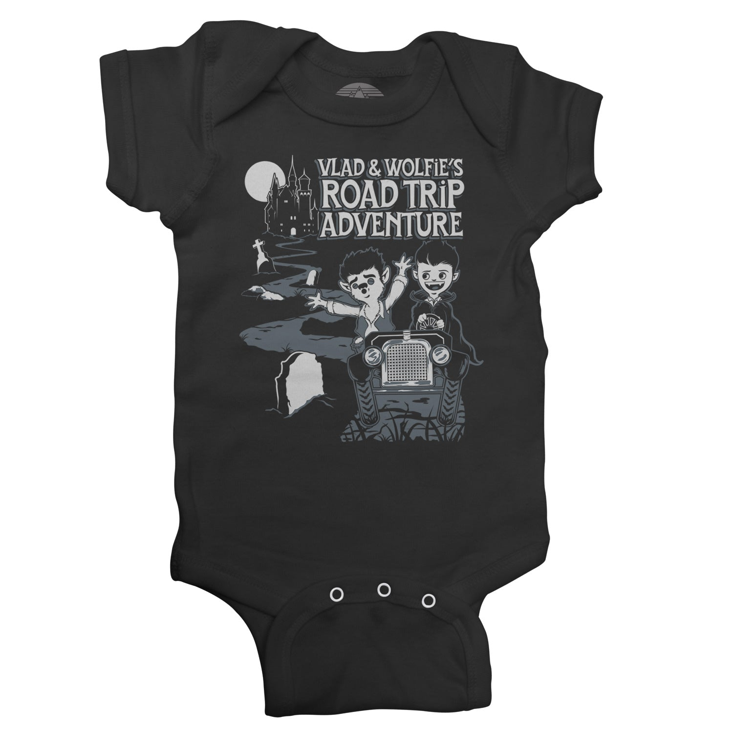 Vlad and Wolfie's Road Trip Adventure Infant Bodysuit - Unisex Fit