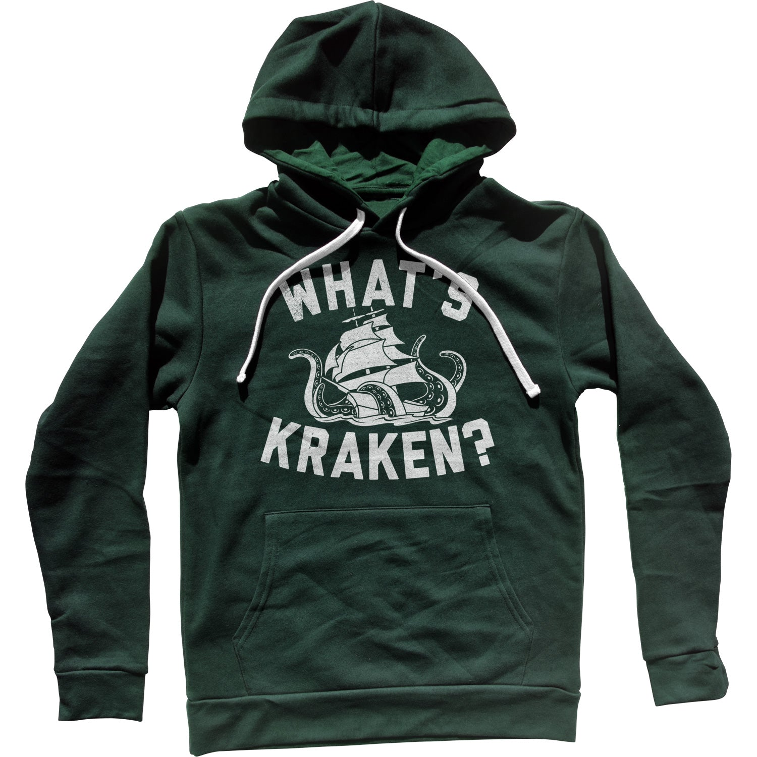 What's Kraken Sea Monster Unisex Hoodie