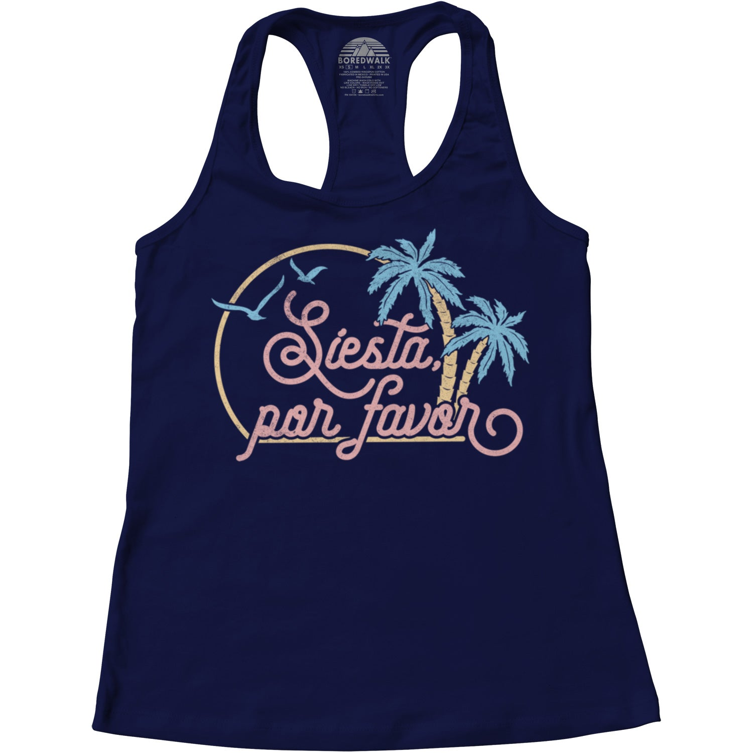 Women's Siesta Por Favor Racerback Tank Top