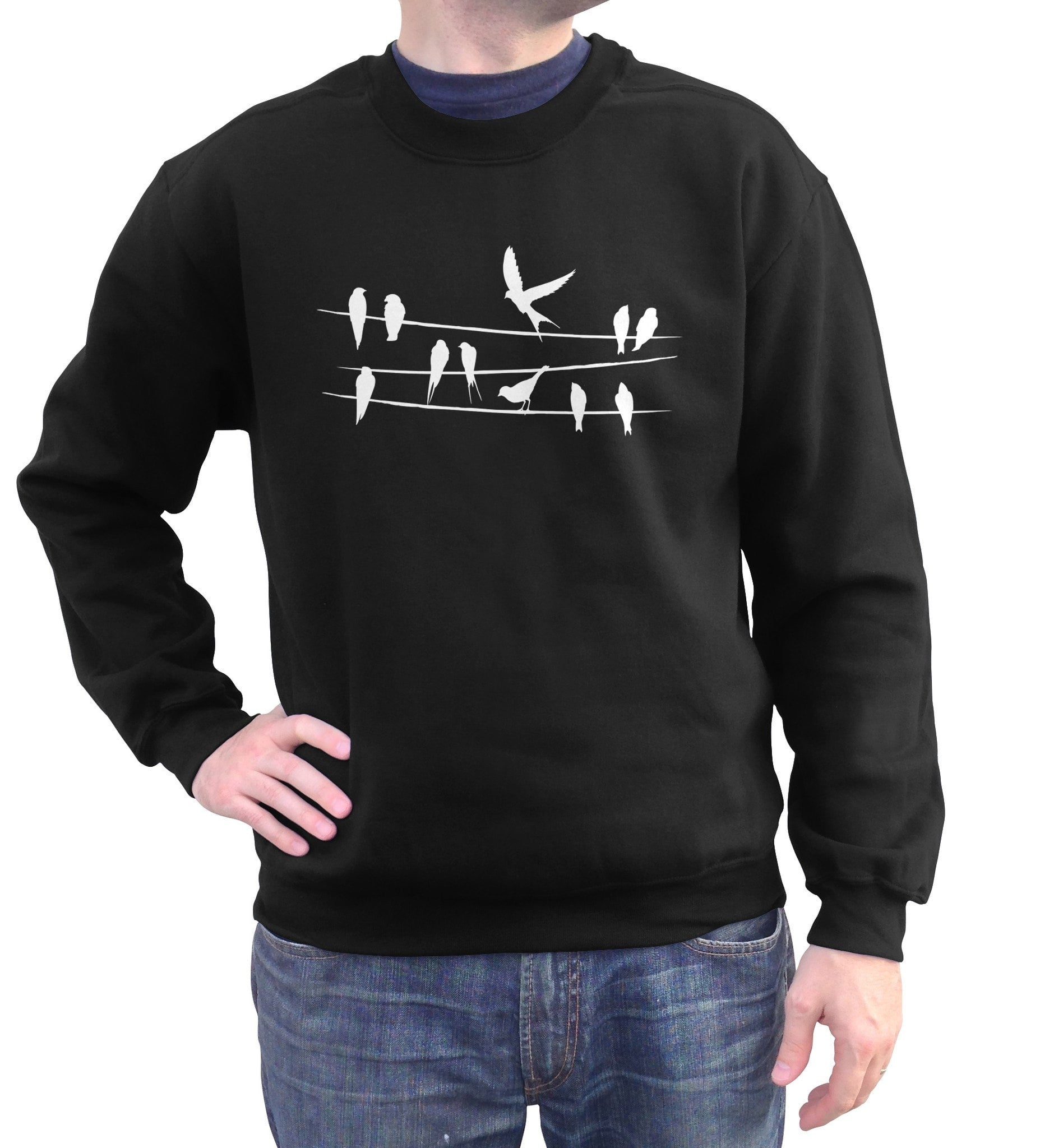 Unisex Birds On A Wire Sweatshirt