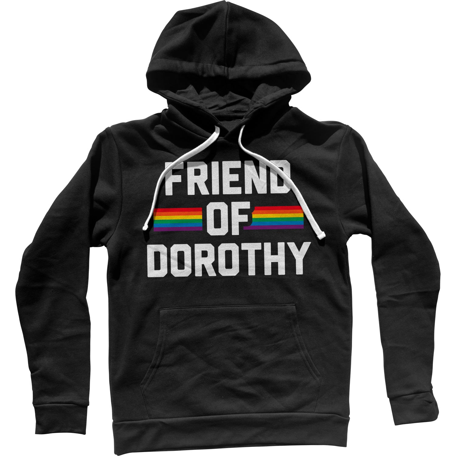 Friend Of Dorothy Gay Pride Unisex Hoodie