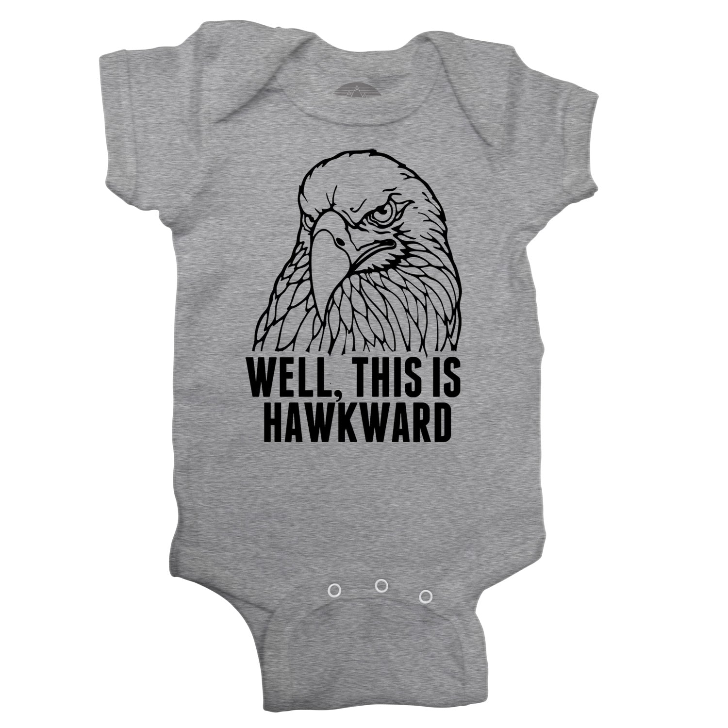 Well This is Hawkward Infant Bodysuit - Unisex Fit