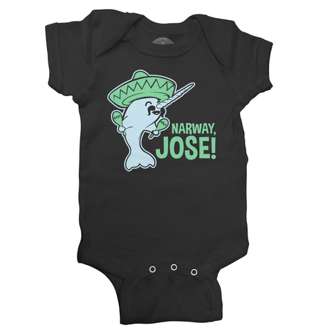 Narway Jose Narwhal Infant Bodysuit - Unisex Fit