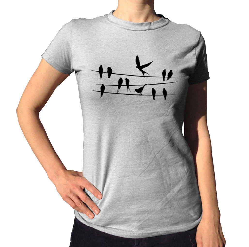 Women's Birds On A Wire T-Shirt