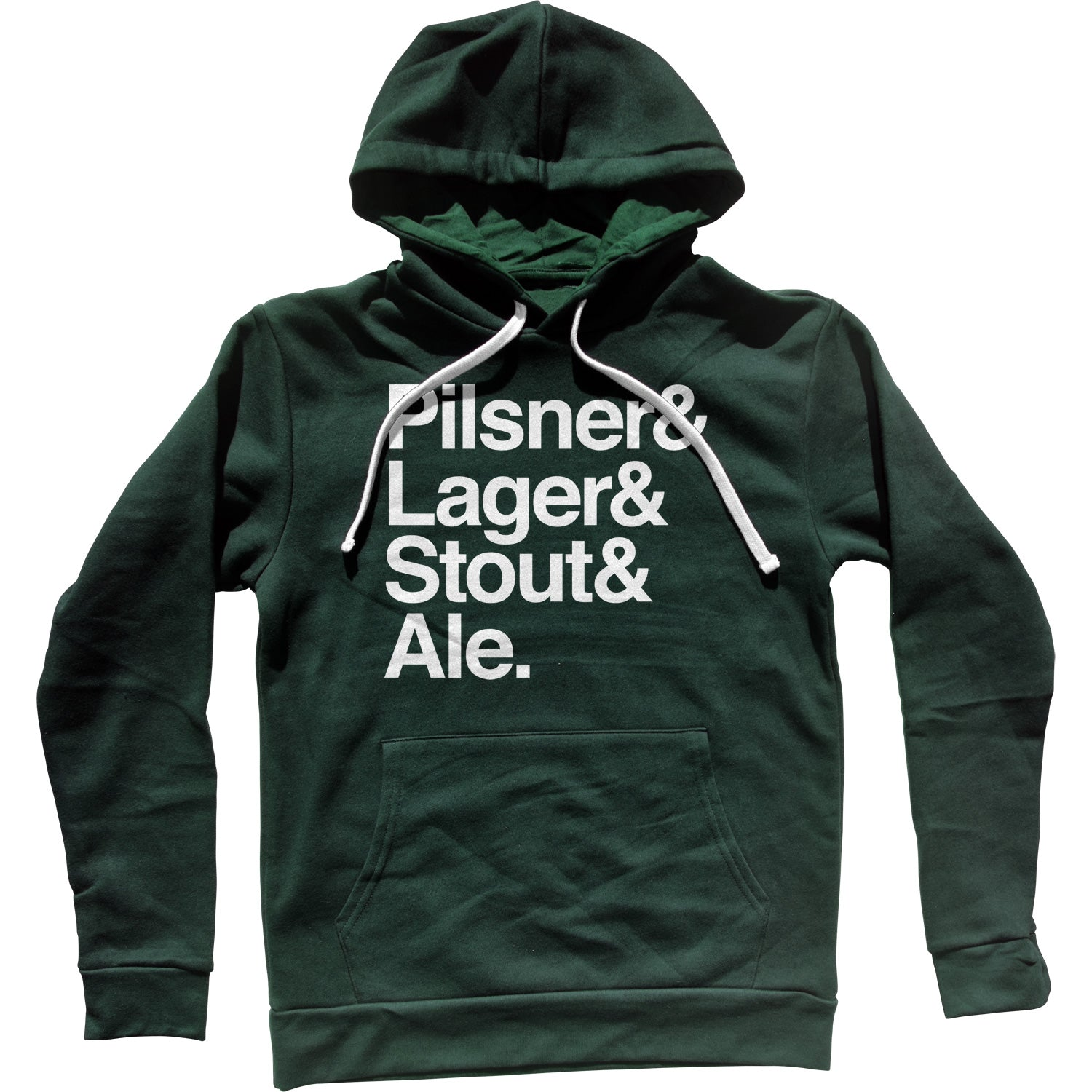 Lager And Stout And Pilsner And Ale Beer Unisex Hoodie