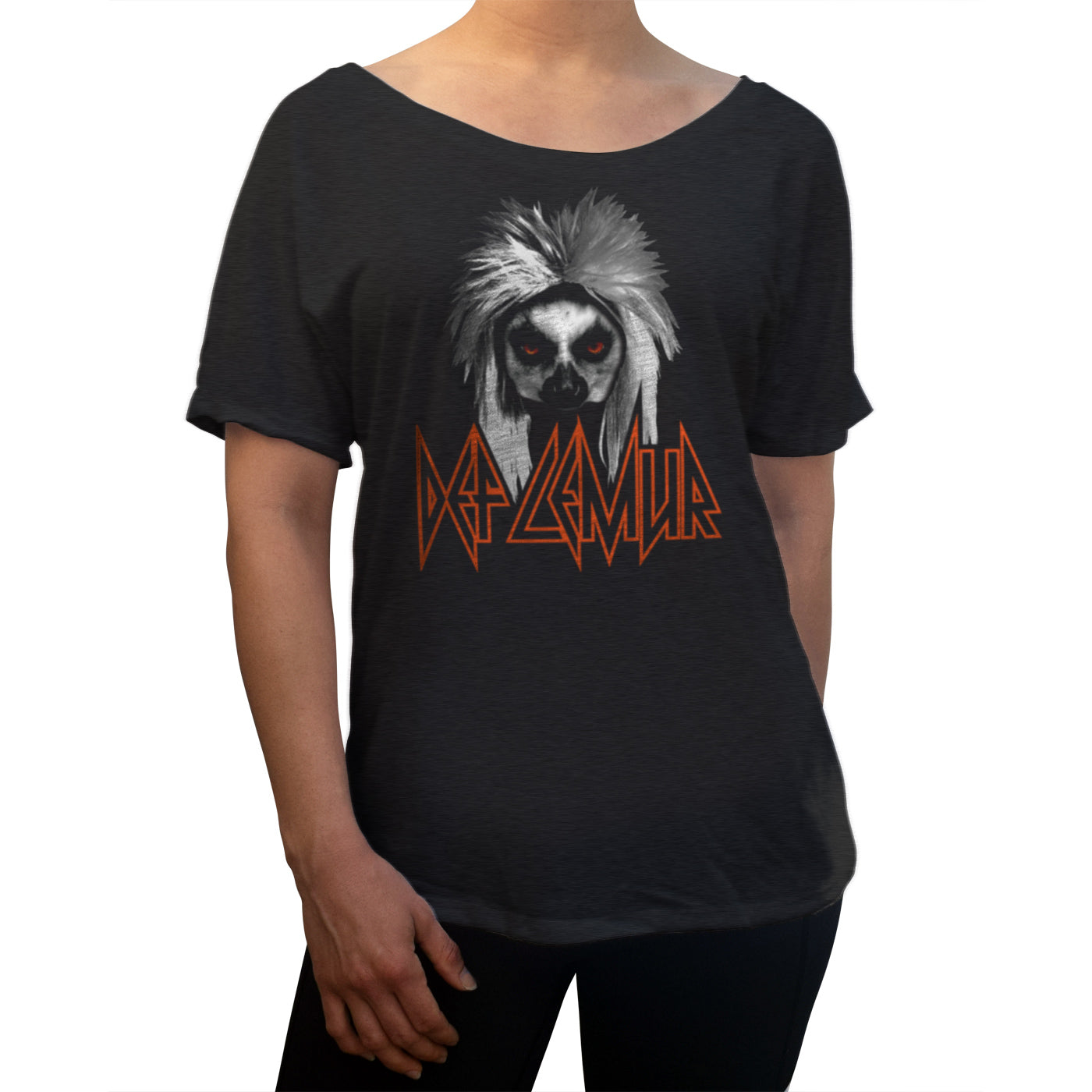 Women's Def Lemur Scoop Neck T-Shirt