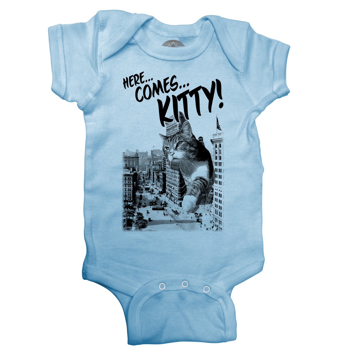 Here Comes Kitty Infant Bodysuit - Unisex Fit