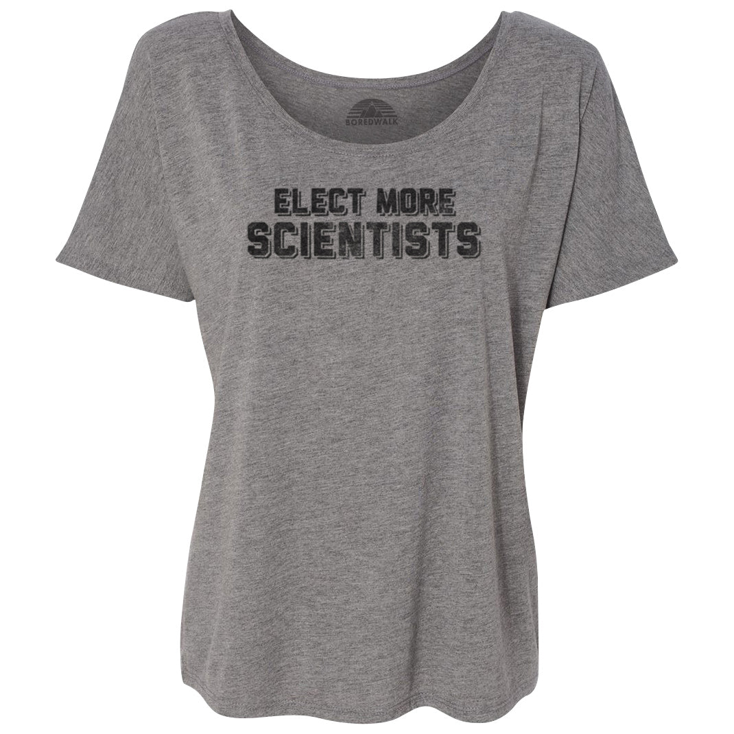 Women's Elect More Scientists Scoop Neck T-Shirt