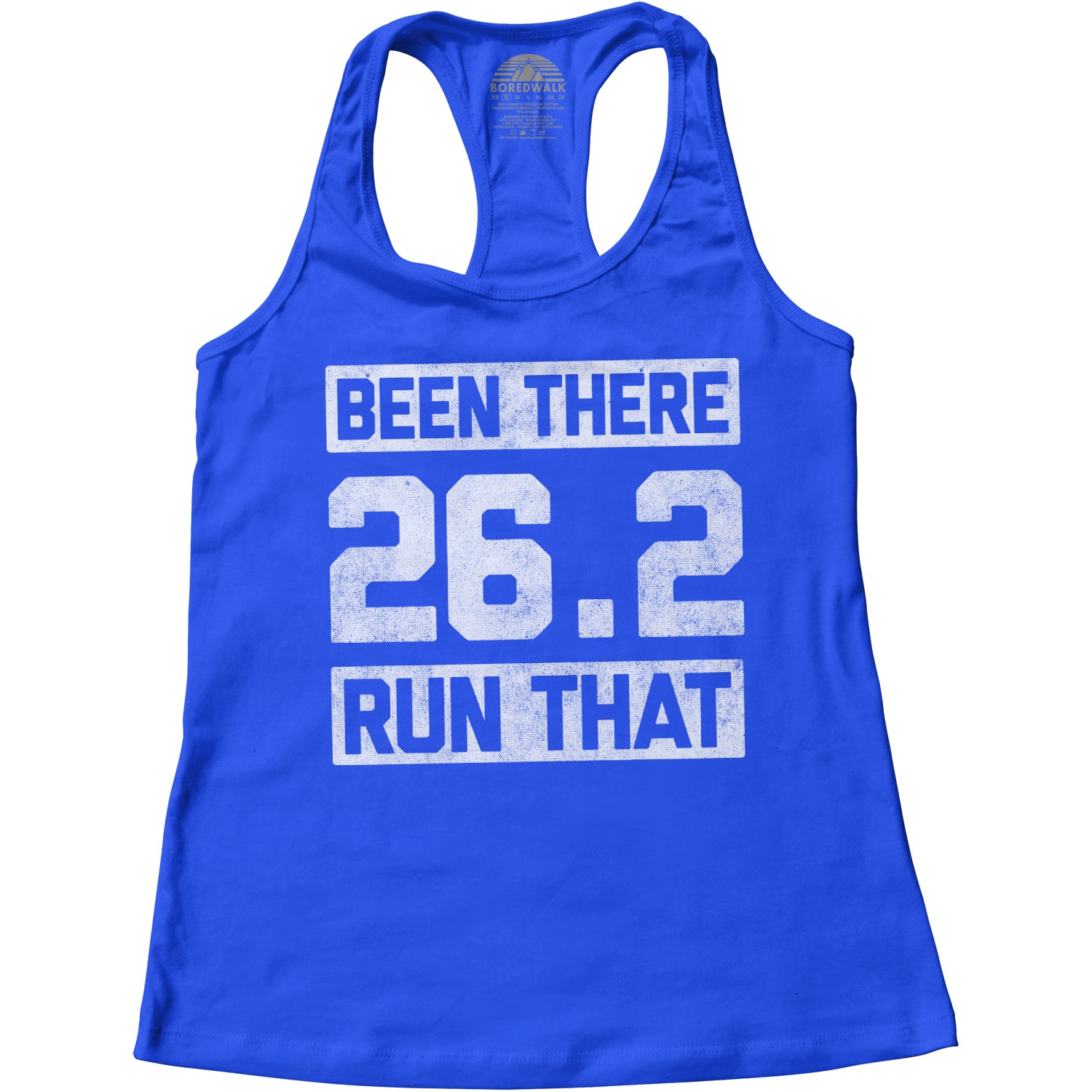 Women's 26.2 Been There Run That Racerback Tank Top