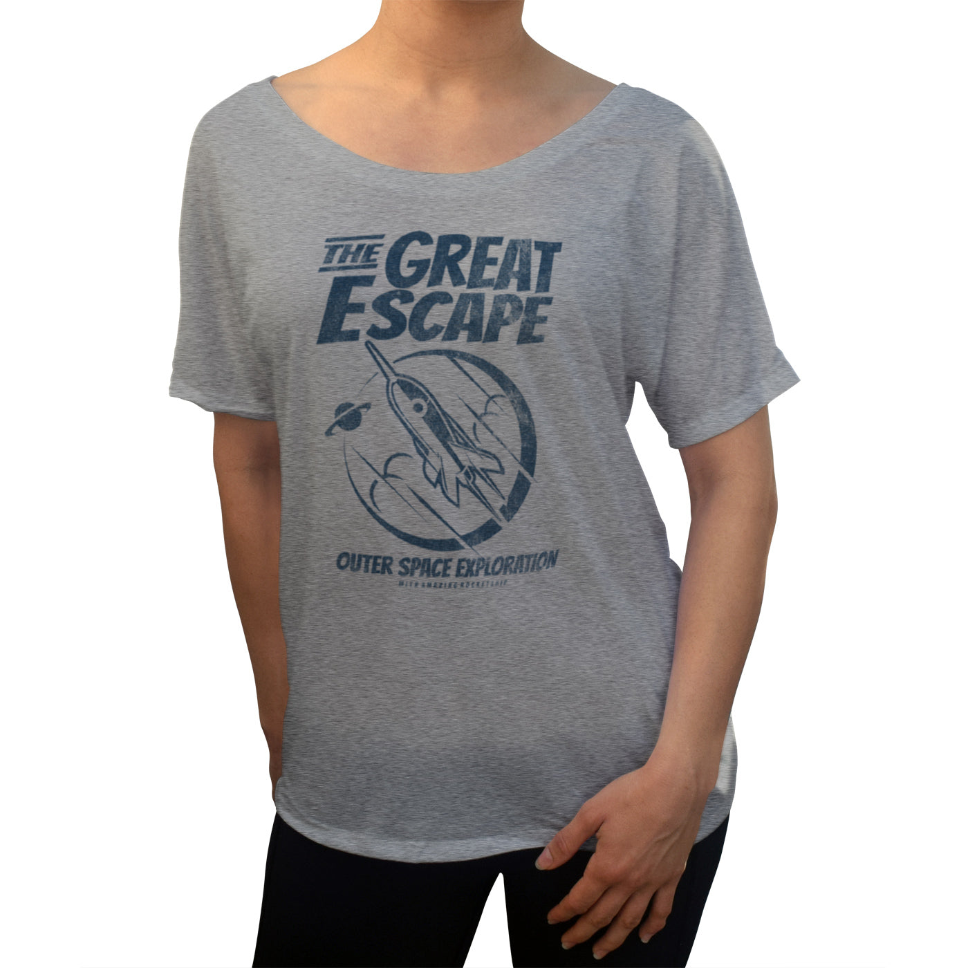 Women's The Great Escape Space Exploration Scoop Neck T-Shirt