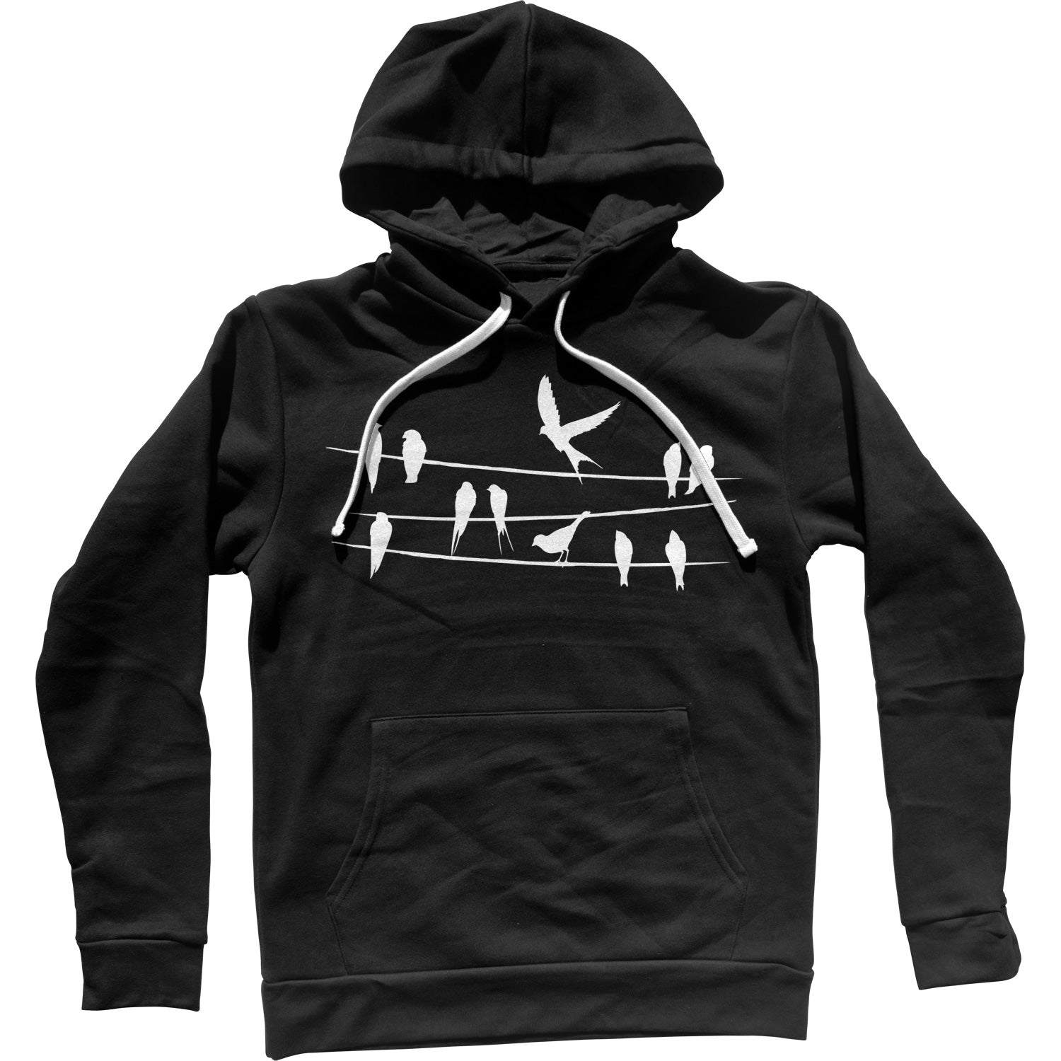 Birds On A Wire Unisex Hoodie