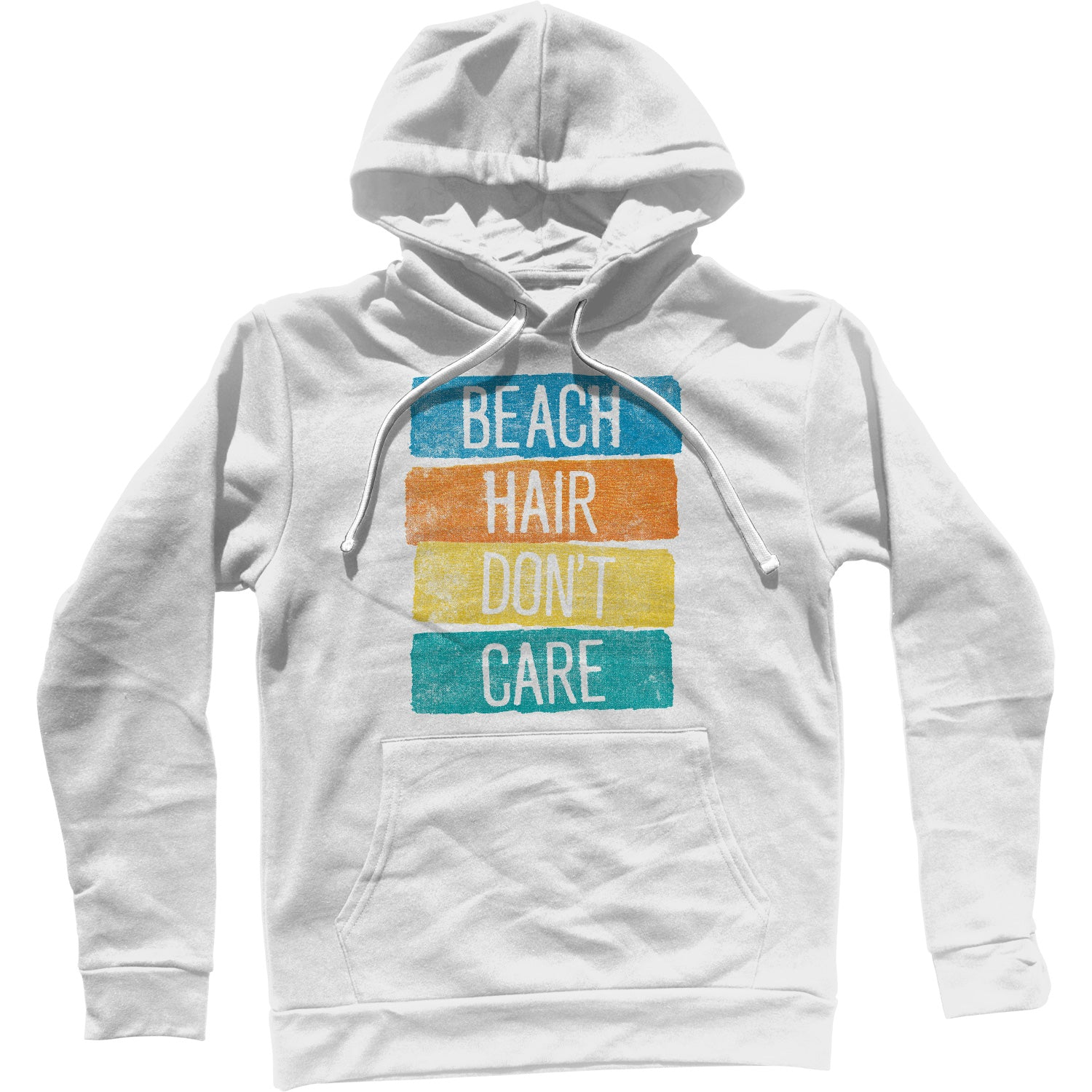 Beach Hair Don't Care Unisex Hoodie