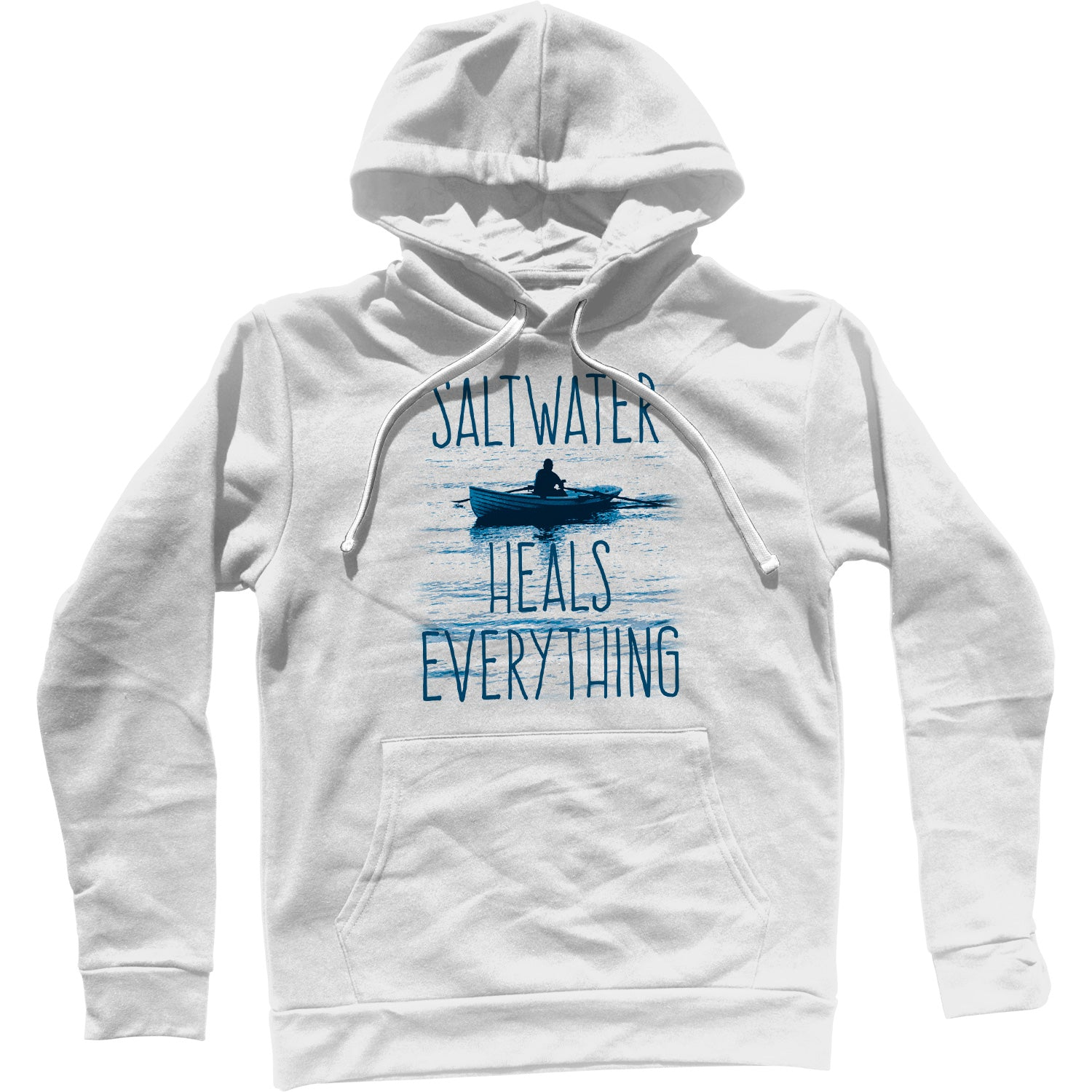 Saltwater Heals Everything Unisex Hoodie