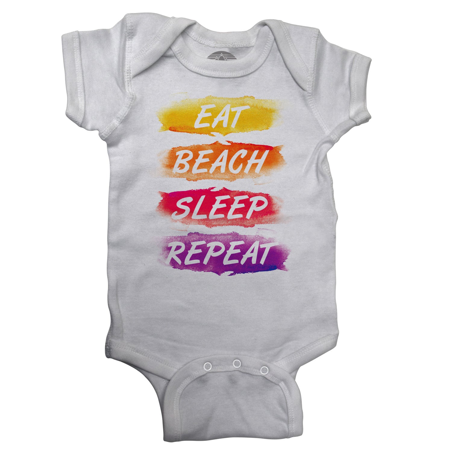 Eat Beach Sleep Repeat Infant Bodysuit - Unisex Fit