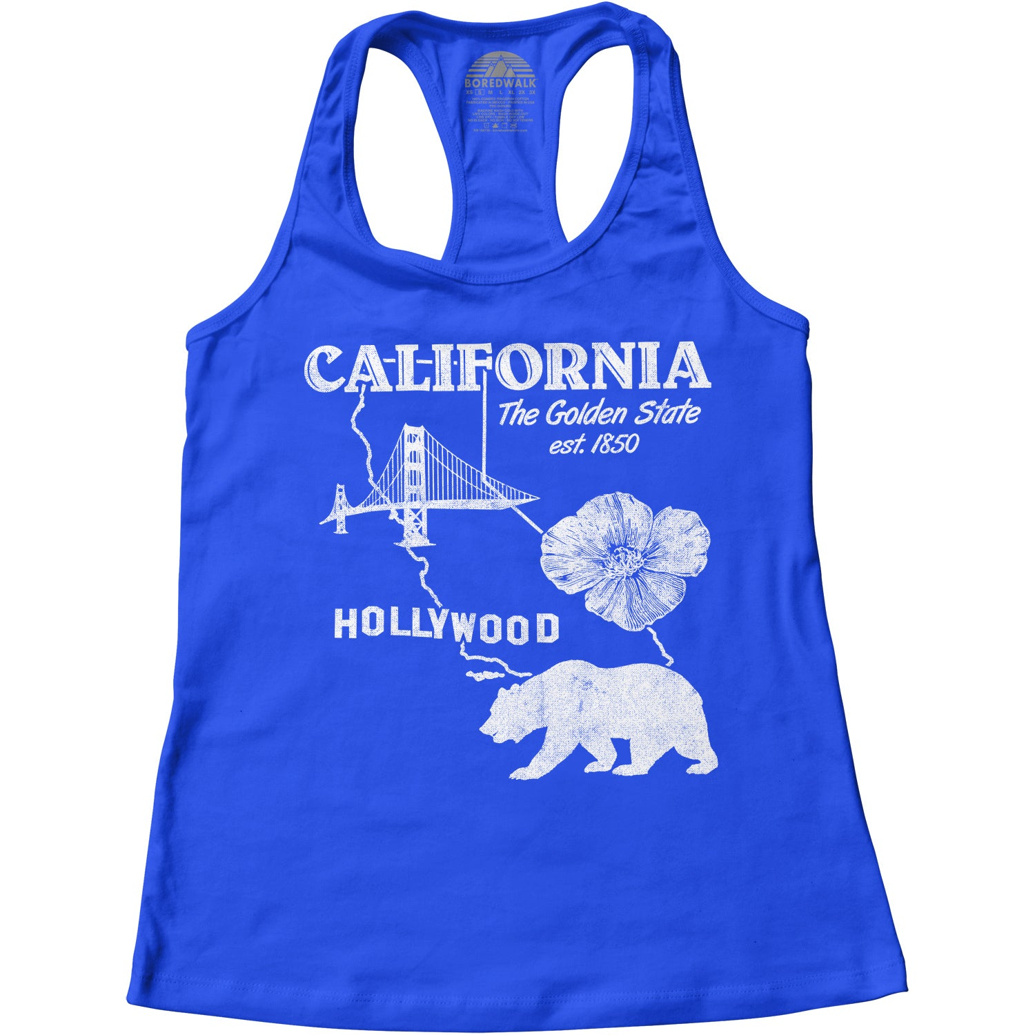 Women's California Racerback Tank Top