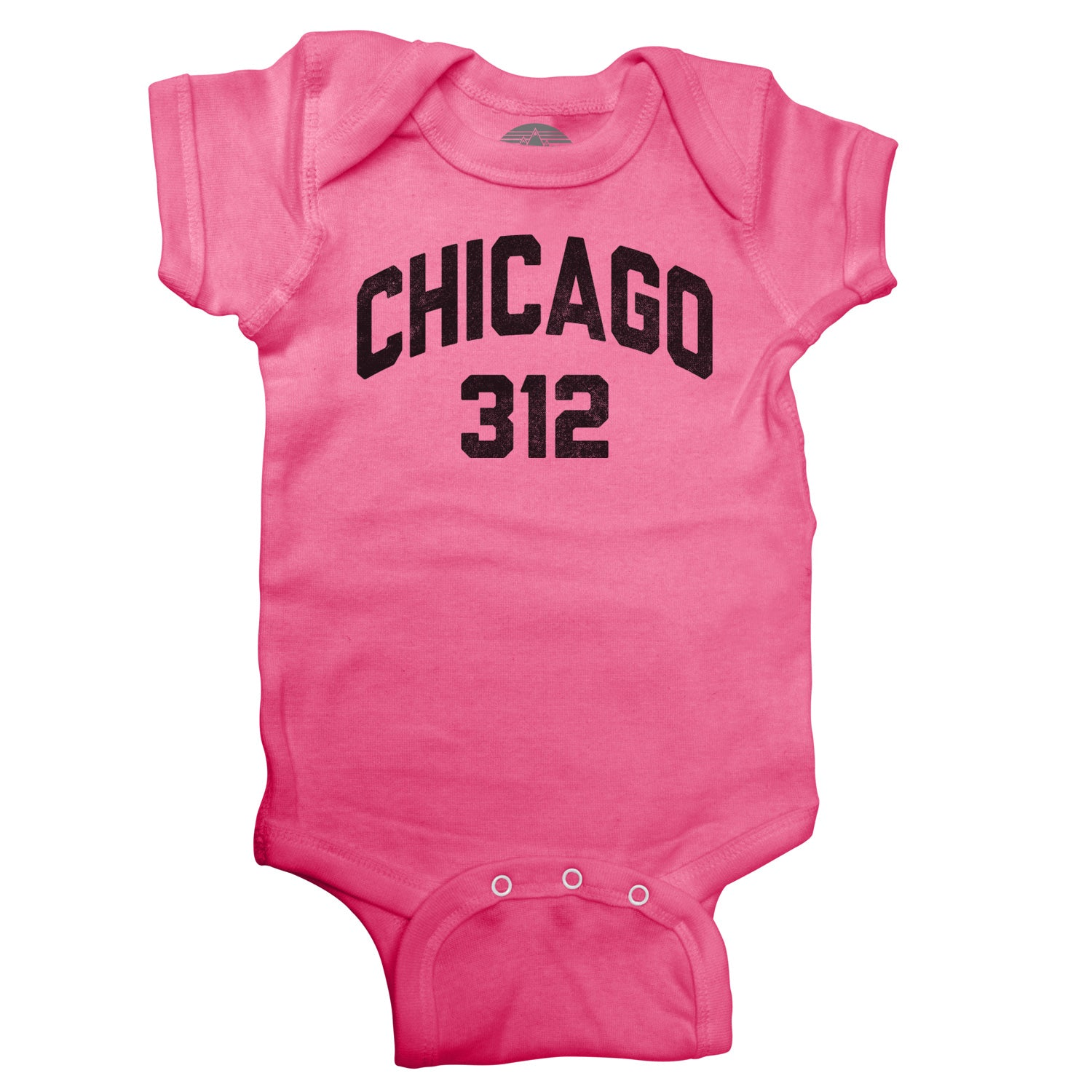 Chicago 312 Area Code Infant Bodysuit - Unisex Fit